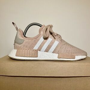 Women's Adidas NMD In Pink and White Size UK 6