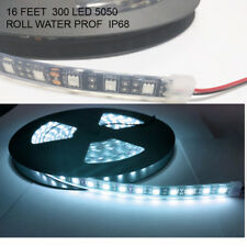 Cool white  Heavy duty 5M Waterproof IP68 300 LED Strip Light 5050 SMD Roll
