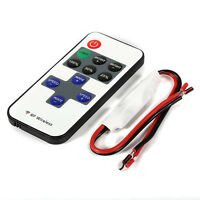 12V Wireless Remote Switch Controller Dimmer Mini LED Strip Light JR