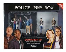 More details for doctor who figurine collection 13th doctor companions box set eaglemoss #7