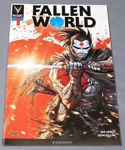 FALLEN WORLD #1 (ECCC Emerald City Ashcan Edition Variant) VF/NM Valiant 2019