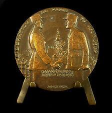 Médaille Général De Gaulle & Philippe Leclerc de Hauteclocque libération Medal