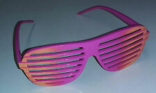 Orange to Pink Ombre Two Tone Aviator Blinds Shutter Shades Glasses