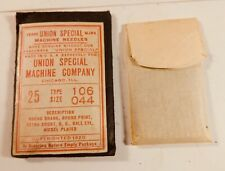 25 pc NOS UNION SPECIAL sewing machine needles Type 106 Size 044 - FREE SHIPPING