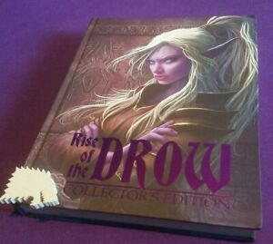 Rise of the Drow Collector's Edition Hardcover 5e Adventure w/ Goodie Filled USB