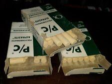 3 Vintage Alphasite Chalk Polychromatic P/C Weber Costello Boxes