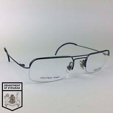 7ac9a5719 CALVIN KLEIN eyeglasses BLUE HALF RIMLESS glasses frame MOD: CK 381 515