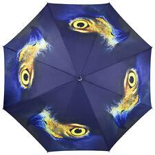 Adler Taschenschirm Schirm Aquila Adlerauge eagle Auf-Automatik blau Kunst