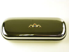 RN ROYAL NAVY SUBMARINERS HAND MADE IN THE UK CHROME FINISHED GLASSES CASE RJ