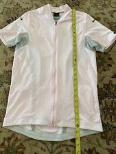 Women's Nike DryFit Pink Cycling Jersey Size Large