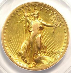 1907 High Relief Saint Gaudens Gold Double Eagle $20 Coin - ANACS XF40 Details!