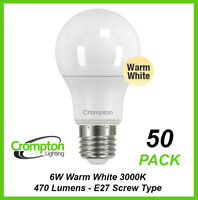 12 X Verbatim B22 LED Filament Candle 5W 470LM Clear Dome Dimmable Globes Warm