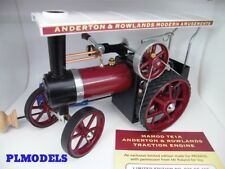 MAMOD/PROMOD- ANDERTON & ROWLANDS WORKING STEAM TRACTION ENGINE TE1A LTD EDITION