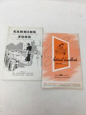 2 WWII Canning & Other Methods Food Preservation /ELECTRICAL HANDBOOK FOR MRS.