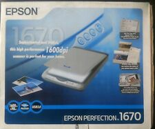 Epson Perfection 1670 USB Scanner