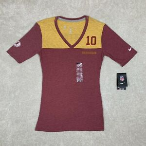NEW NFL Washington Redskins Women's Shirt Size Small Nike Football GRIFFIN