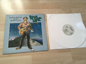 JONATHAN RICHMAN & THE MODERN LOVERS BACK IN YOUR LIFE LP WHITE VINYL VG++