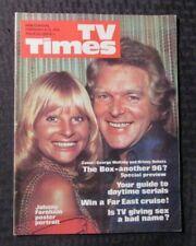 1974 Feb 9-15 TV TIMES Guide Magazine FN+ 6.5 w/ Johnny Farnham Poster