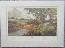 David Dipnall, Morning by the Stream- Signed Limited Edition Landscape Print