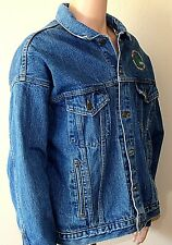 Vintage Denim Steelworkers Jacket Jean Men's XL Lined 13214 Safety USA A of M