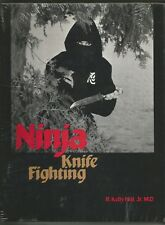 NINJA KNIFE FIGHTING KELLY HILL JR  PALADIN PRESS HC 1984  NEW IN WRAP OOP
