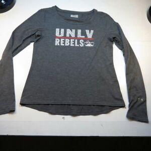 UNDER ARMOUR UNLV UNIVERSITY OF NEVADA LAS VEGAS Semi Fitted T SHIRT Womens L