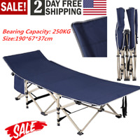 USA Folding Bed Adjustable Guest Single Bed Lounge Twin Mattress Portable