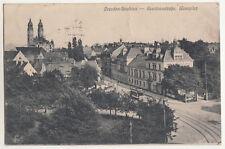 Ak Dresden Strehlen Residenzstraße Wasaplatz Straßenbahn 1923 (A2865