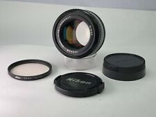 【 Quasi Mint 】 Nikon Nikkor Ai-S Lente 50mm f1.4 Da Giappone