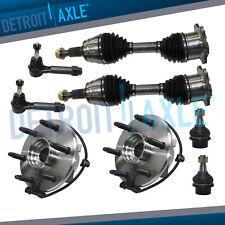 Avalanche 1500 CV Axle Shaft Ball Joint TieRod Wheel Bearings Kit 4WD ABS 8pc
