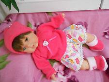 ens neuf jupe  4 pce compatible avec poupée ,baigneur,antonio juan 40/45 cm