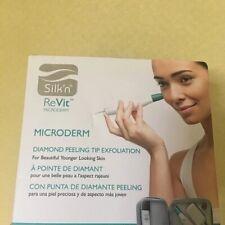 Silk'n ReVit Facial Peeling device Diamond Microderm Exfoliation - NEW In Box