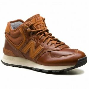 New Balance 574 Mid Top Men's Lifestyle Shoes Brown 2018 New Sneakers MH574-OAD