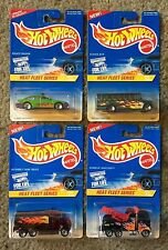 HEAT FLEET SERIES 1996 Hot Wheels 4 Car Set