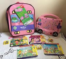 My First Leap Pad Pink Interactive BUS Phonic Sounds Dora Princess NEW Bag