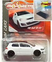 Majorette Volkswagen VW Golf VII GTI White (Black Roof) 1/64 264C Free Shipping