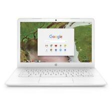 HP 14-ca051wm Chromebook Intel Celeron N3350 Processor 4GB SDRAM 32GB eMMC Snow
