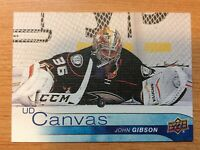 UPPER DECK 2016-2017 SERIES ONE CANVAS JOHN GIBSON HOCKEY CARD C-2