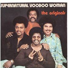 SUPERNATURAL VOODOO WOMAN - THE ORIGINALS - SOLO COPERTINA - ONLY COVER