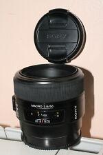 Sony AF 50 mm 2,8 MACRO pour Sony Alpha A