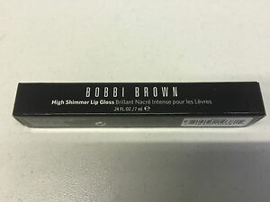 BOBBI BROWN HIGH SHIMMER LIP GLOSS- UBER SUEDE 22