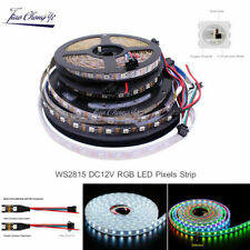WS2815 DC12V RGB LED Pixels Strip Light Individually Addressable LED Dual-Signal