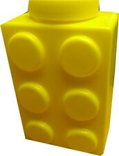 Toy Block Shaped Sippy Cup Water Bottle New