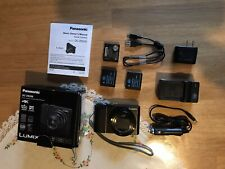 "Panasonic LUMIX ZS200 20.1 MP Digital Camera,1"" Sensor,Mint, 24-360mm Leica Lens"