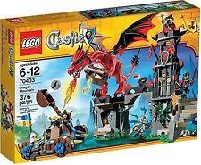 LEGO CASTLE  Dragon Mountain (70403) New Factory Sealed Kingdom 5 figs Retired