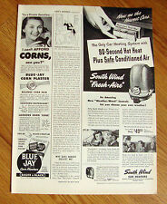 1949 South Wind Car Automobile  Heaters Ad