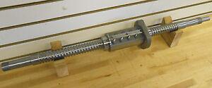 NSK/HARDINGE PRECISION ROLLED BALLSCREW, 10mm PITCH, 36mm THREAD DIA ~NEW~