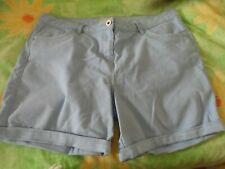 Ladies size 16 George blue jean style summer shorts