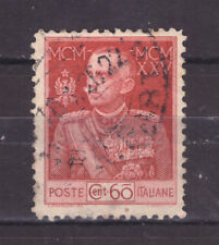 FRANCOBOLLI Italia Regno 1925-26 -- Giubileo del Re 60 c. D. 11 SAS189