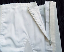 Vintage-New Open Girdle Rago Size 28 M White Shimmer Shaping Zipper Garters USA